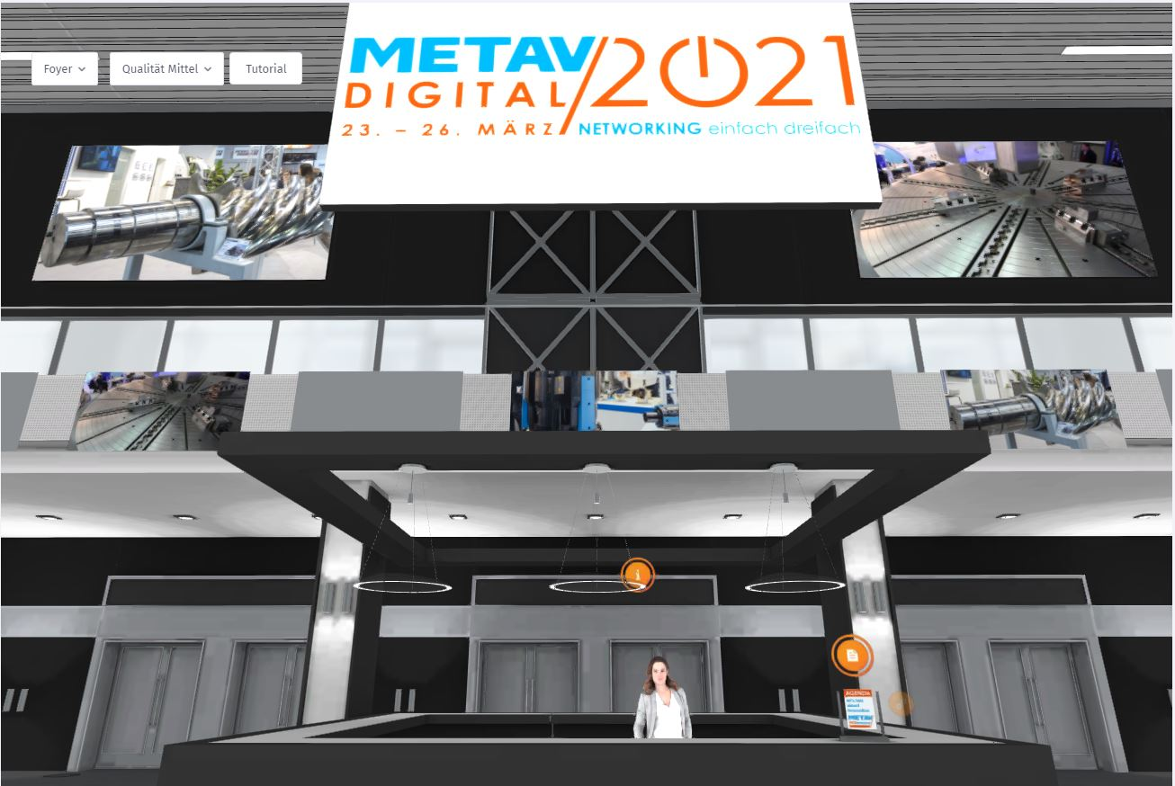 Unique trade fair feeling in digital form – METAV opening today on the web